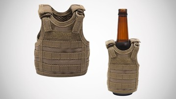 Tactical Vest Beer Koozies