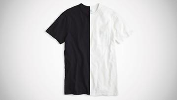 The Best Men's Black & White T-Shirts