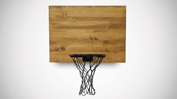 Wood Basketball Hoops