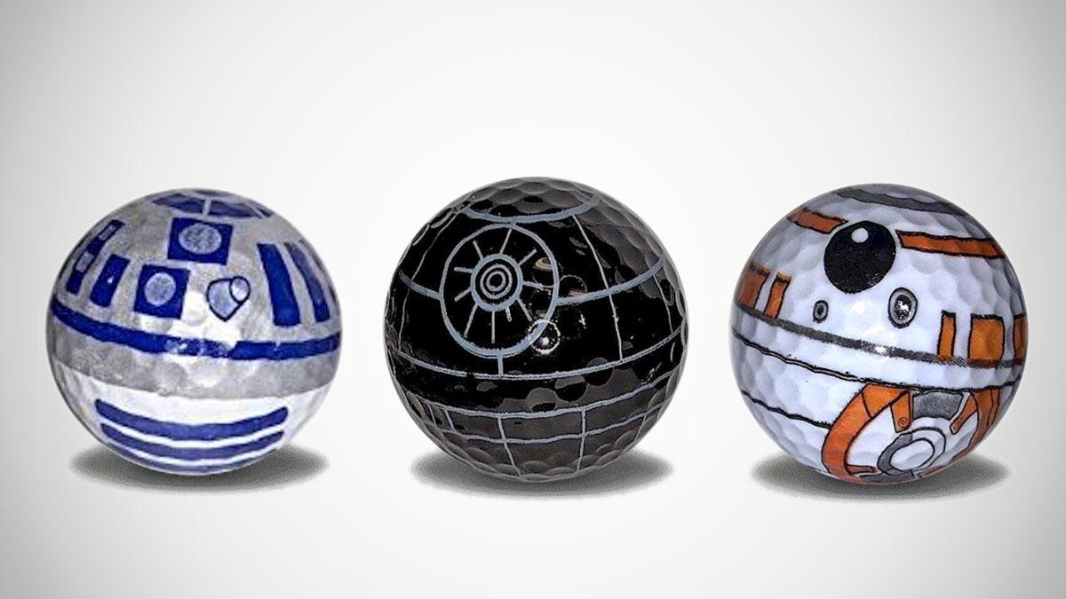 Star Wars Golf Balls  e1d6047f9