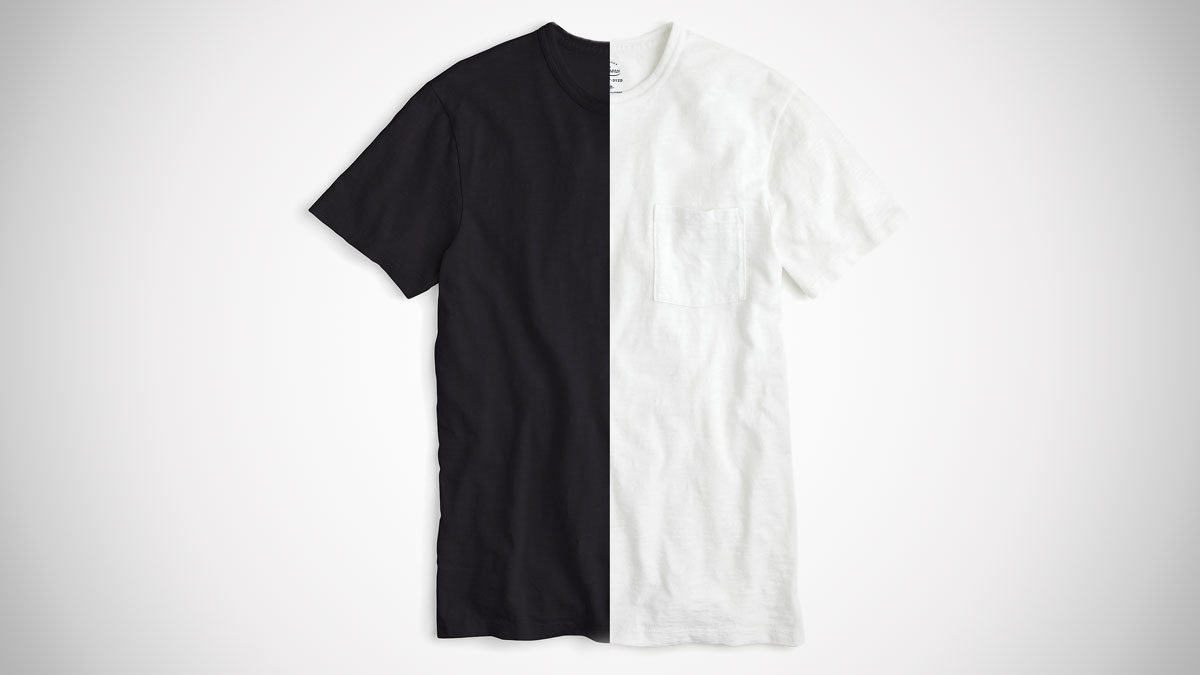 The Best Men's Black & White T-Shirts | DudeIWantThat.com