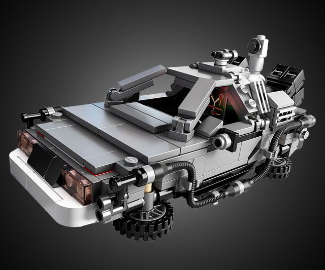 LEGO Back to the Future DeLorean | DudeIWantThat.com