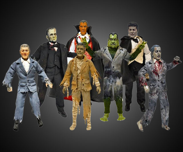 Presidential Monster Action Figures Dudeiwantthat Com