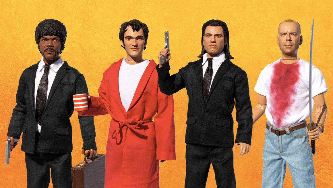 Pulp Fiction Explicit Talking Action Figures