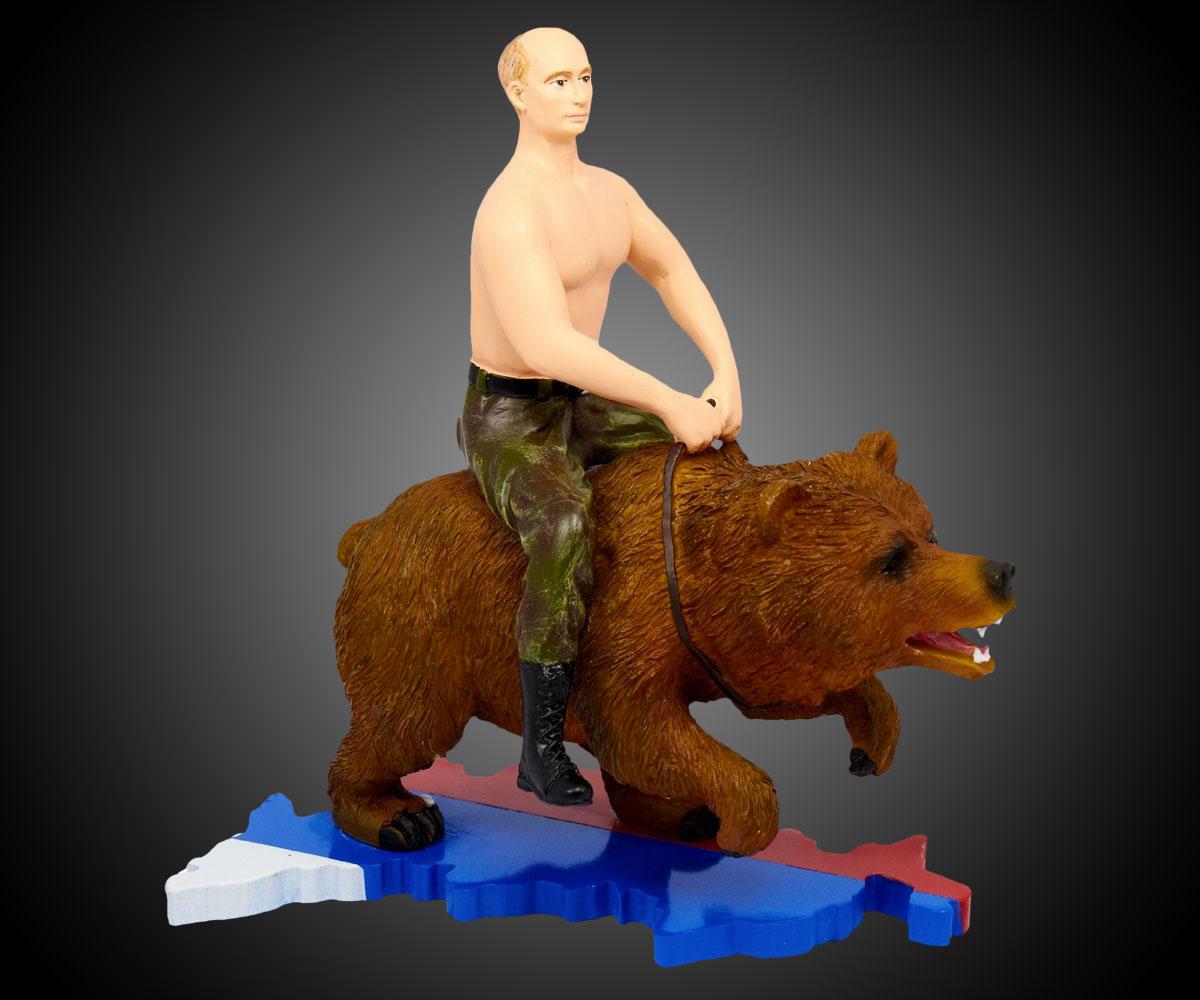 Putin Riding A Bear Action Figure Dudeiwantthat Com