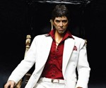 Tony Montana Action Figure and Chair