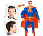 Your Face on a Superhero Action Figure