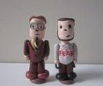 Mini Dwight and Mose