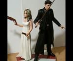 Buffy the Vampire Slayer Customizable Wedding Cake Topper