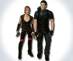Your Face Zombie & Vampire Hunter Figurines