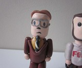 Mini Dwight and Mose