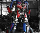 Steampunk Optimus Prime-5060