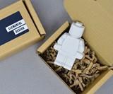 Concrete LEGO Minifigs