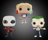 Funko POP Suicide Squad Action Figures