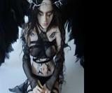 Goth Angel Fantasy Figurines