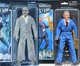 Presidential Monster Action Figures - Bush & Clinton
