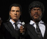 Pulp Fiction Explicit Talking Action Figures
