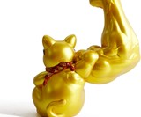 Strong Arm Maneki-Neko Good Luck Cat