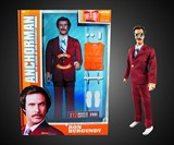 Talking Ron Burgundy Action Figure