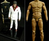 Tony Montana Action Figure Full Length and Naked