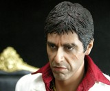 Tony Montana Action Figure Closeup