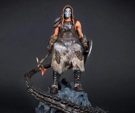 Dragonborn Statue