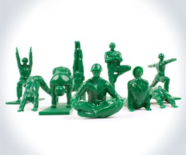 Yoga Joes Army Men