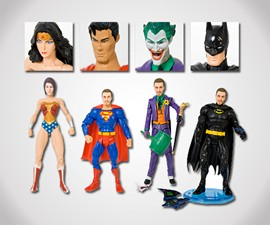 Your Face Superhero Action Figure