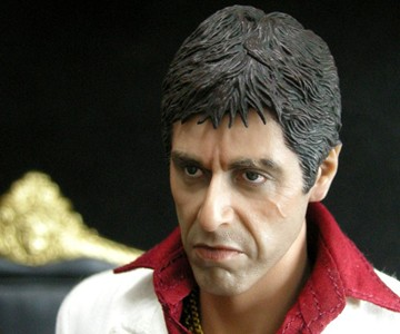 Scarface Tony Montana Action Figure Dudeiwantthat Com