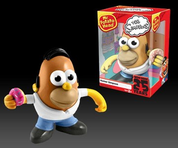 Mr. Potato Head Homer