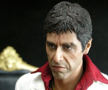 Tony Montana Action Figure Closeup