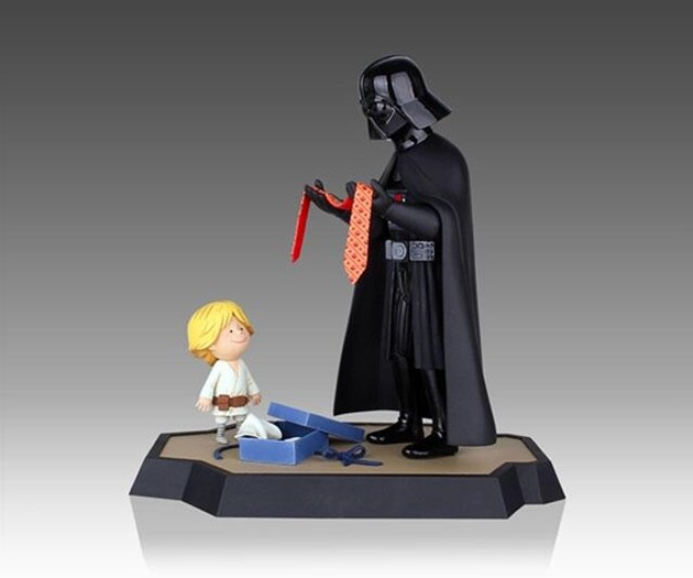 Darth Vader and Son Figures