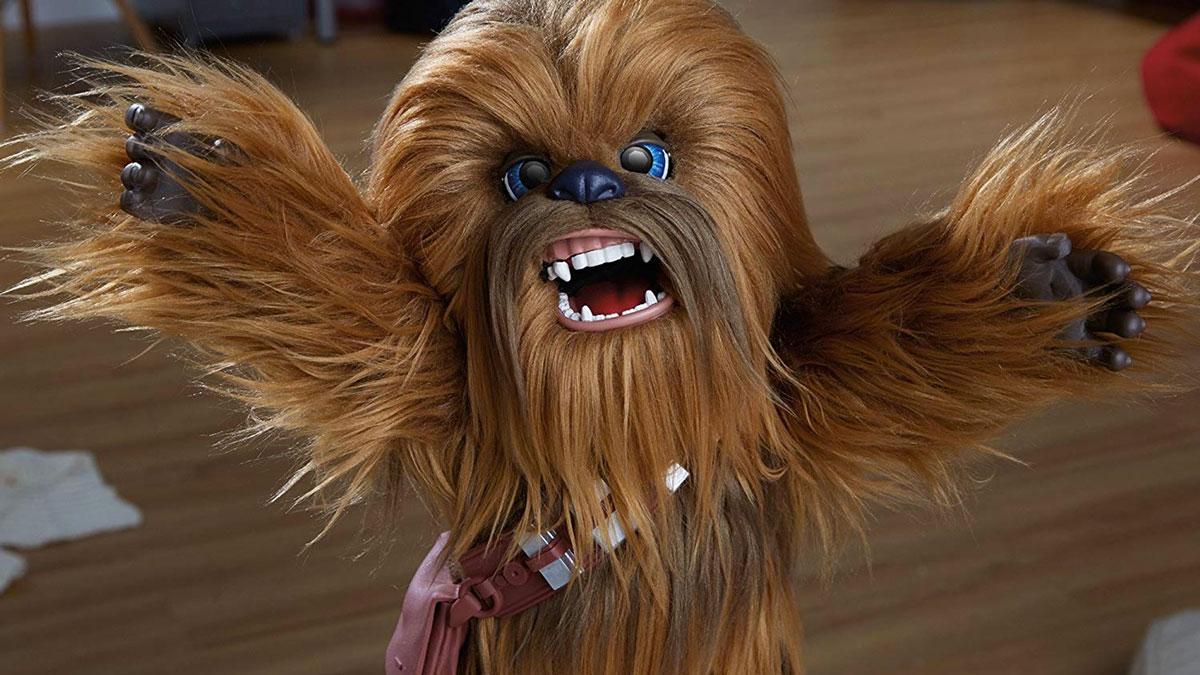 star wars furreal 16 interactive chewbacca dudeiwantthat com