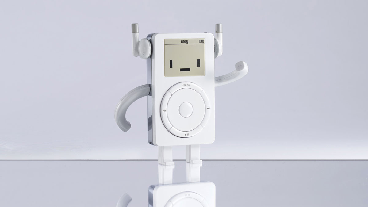 The iBoy - iPod Tribute Collectible Figure