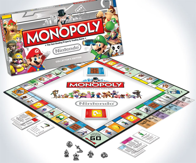 Nintendo Collector's Edition Monopoly