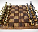 Bullet Chess Set