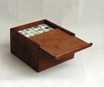 Porcelain Mahjong Set-2763