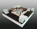 Porcelain Mahjong Set