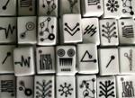 Porcelain Mahjong Set-6013