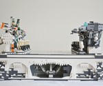 Planet Hoth LEGO Chess Set - Side View