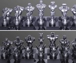Street Fighter Chess Pieces