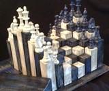 Handmade 3D Chess Boards