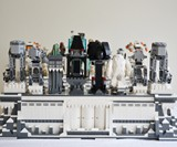 Planet Hoth LEGO Chess Set - Figure Back View