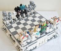 Planet Hoth LEGO Chess Set