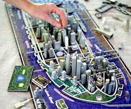 4D Cityscape Puzzles