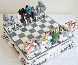 Planet Hoth LEGO Chess Set