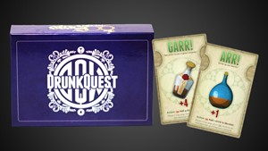DrunkQuest - A Fantasy Drinking Game