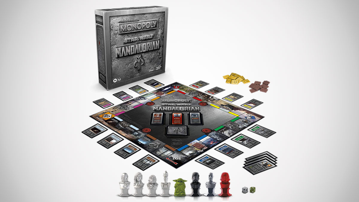 Star Wars The Mandalorian Monopoly