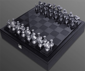 Street Fighter Chess Set