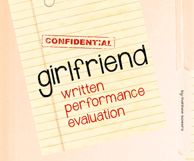 Girlfriend Written Performance Evaluation